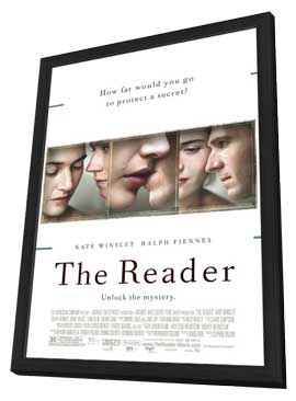 The Reader - 11 x 17 Movie Poster - Style A - in Deluxe Wood Frame