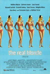 The Real Blonde - 27 x 40 Movie Poster - Style B