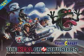 The Real Ghostbusters - 27 x 40 Movie Poster - Style A