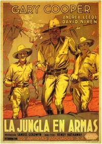 The Real Glory - 11 x 17 Movie Poster - Spanish Style A