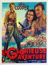 The Real Glory - 27 x 40 Movie Poster - Belgian Style A