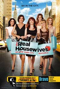 The Real Housewives of New York City - 11 x 17 Movie Poster - Style A