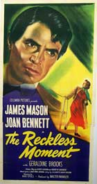 The Reckless Moment - 20 x 40 Movie Poster - Style A