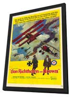 The Red Baron - 27 x 40 Movie Poster - Style A - in Deluxe Wood Frame
