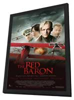 The Red Baron - 11 x 17 Movie Poster - Style B - in Deluxe Wood Frame