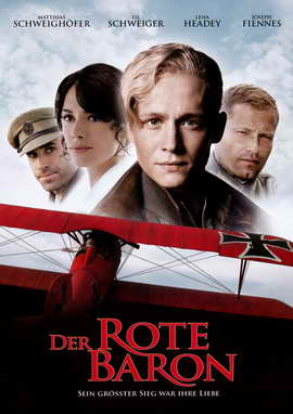 The Red Baron - 27 x 40 Movie Poster - German Style A
