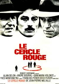 The Red Circle - 11 x 17 Movie Poster - French Style A