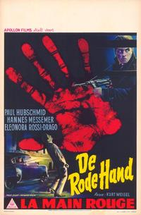 The Red Hand - 11 x 17 Movie Poster - Belgian Style A