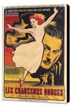 The Red Shoes - 11 x 17 Movie Poster - French Style A - Museum Wrapped Canvas