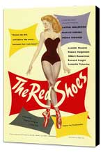 The Red Shoes - 27 x 40 Movie Poster - Style A - Museum Wrapped Canvas
