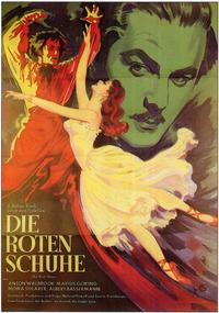 The Red Shoes - 11 x 17 Movie Poster - German Style A