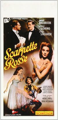 The Red Shoes - 11 x 17 Movie Poster - Italian Style A