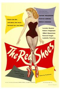 The Red Shoes - 43 x 62 Movie Poster - Bus Shelter Style A
