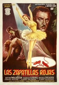 The Red Shoes - 11 x 17 Movie Poster - Italian Style B