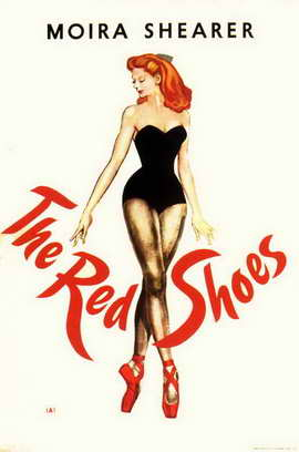 The Red Shoes - 11 x 17 Movie Poster - Style C