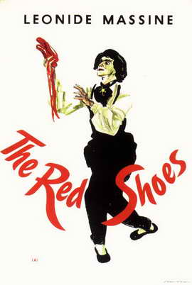 The Red Shoes - 11 x 17 Movie Poster - Style E