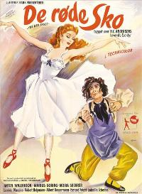 The Red Shoes - 11 x 17 Movie Poster - Danish Style A