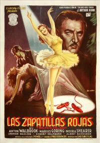 The Red Shoes - 11 x 17 Movie Poster - Spanish Style A