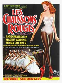 The Red Shoes - 11 x 17 Movie Poster - Belgian Style A