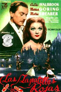 The Red Shoes - 11 x 17 Movie Poster - Style J