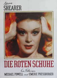 The Red Shoes - 11 x 17 Movie Poster - German Style B
