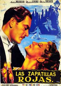 The Red Shoes - 11 x 17 Movie Poster - Spanish Style B