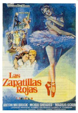 The Red Shoes - 11 x 17 Movie Poster - Spanish Style C