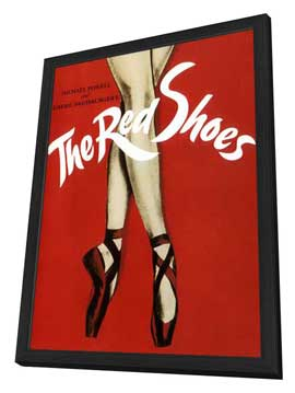 The Red Shoes - 11 x 17 Movie Poster - Style I - in Deluxe Wood Frame