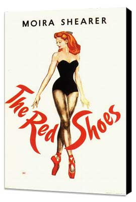 The Red Shoes - 11 x 17 Movie Poster - Style C - Museum Wrapped Canvas