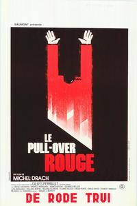 The Red Sweater - 27 x 40 Movie Poster - Belgian Style A