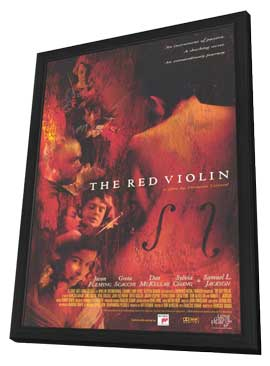 The Red Violin - 11 x 17 Movie Poster - Style A - in Deluxe Wood Frame
