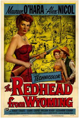 The Redhead from Wyoming - 11 x 17 Movie Poster - Style A