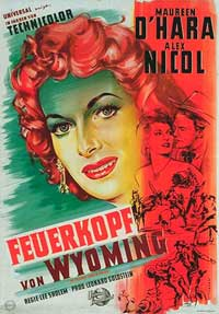 The Redhead from Wyoming - 11 x 17 Movie Poster - German Style A