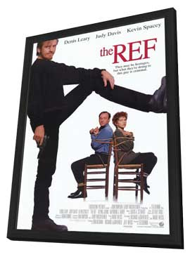 The Ref - 11 x 17 Movie Poster - Style A - in Deluxe Wood Frame