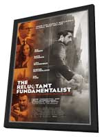 The Reluctant Fundamentalist - 11 x 17 Movie Poster - Style A - in Deluxe Wood Frame