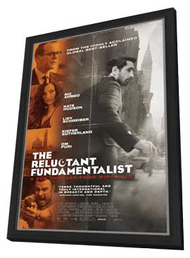 The Reluctant Fundamentalist - 27 x 40 Movie Poster - Style A - in Deluxe Wood Frame