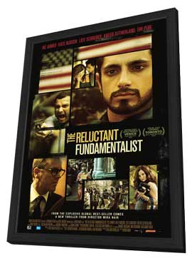 The Reluctant Fundamentalist - 27 x 40 Movie Poster - Style B - in Deluxe Wood Frame