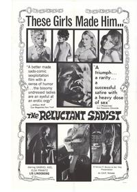 The Reluctant Sadist - 27 x 40 Movie Poster - Style A