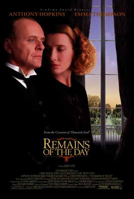 The Remains of the Day - 27 x 40 Movie Poster - Style A