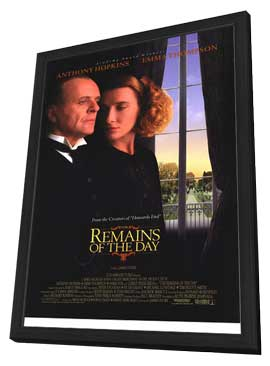 The Remains of the Day - 11 x 17 Movie Poster - Style A - in Deluxe Wood Frame