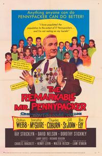 The Remarkable Mr. Pennypacker - 43 x 62 Movie Poster - Bus Shelter Style A
