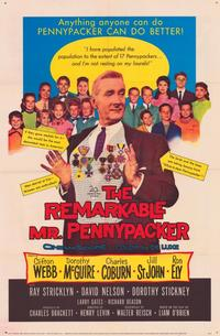 The Remarkable Mr. Pennypacker - 11 x 17 Movie Poster - Style A