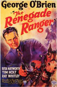The Renegade Ranger - 43 x 62 Movie Poster - Bus Shelter Style A