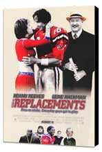 The Replacements - 27 x 40 Movie Poster - Style B - Museum Wrapped Canvas