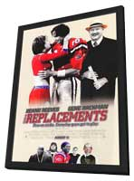 The Replacements - 11 x 17 Movie Poster - Style B - in Deluxe Wood Frame