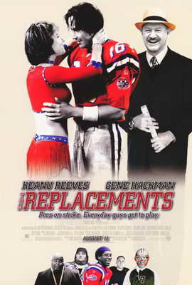 The Replacements - 27 x 40 Movie Poster - Style B