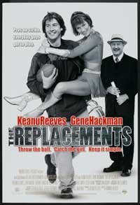 The Replacements - 27 x 40 Movie Poster - Style A