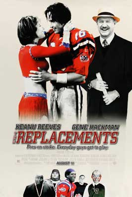 The Replacements - 11 x 17 Movie Poster - Style B