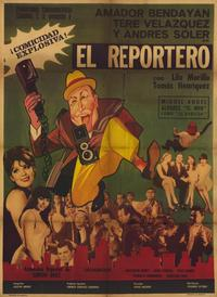 The Reporter - 11 x 17 Movie Poster - Spanish Style A