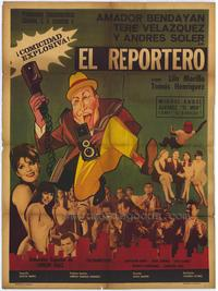 The Reporter - 27 x 40 Movie Poster - Spanish Style A